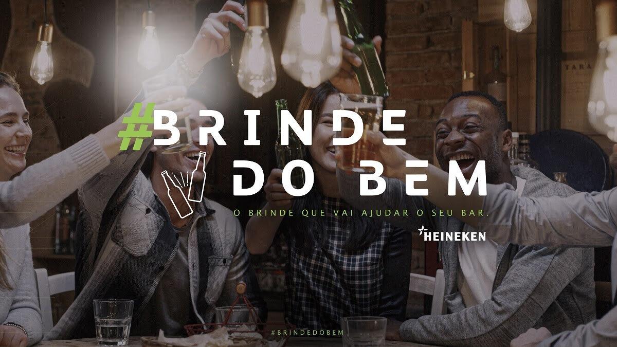 'Brinde do Bem', da Heineken, recolhe doações para bares — Beer Art - Portal da CERVEJA