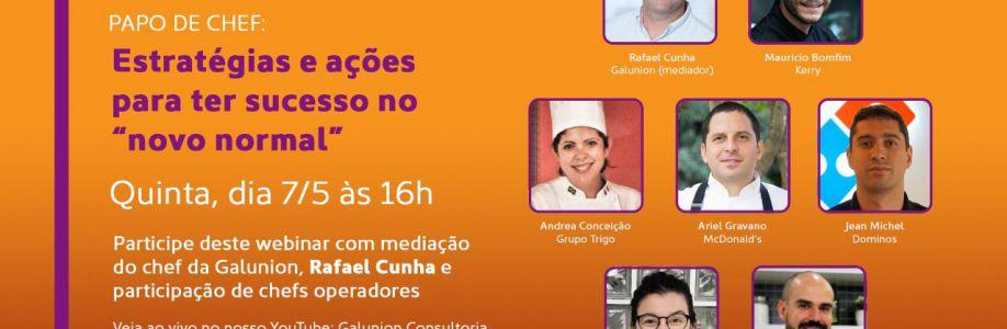"""Webinar Estratégias e ações para ter sucesso no """"novo normal"""" Cover Image"""