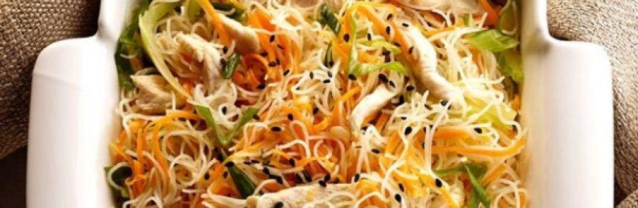 As delícias do macarrão de arroz Cover Image