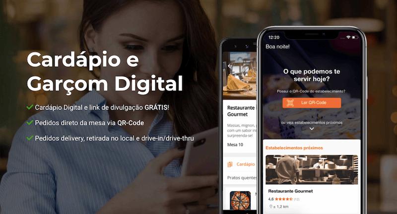 FastGet | Cardápio Digital Grátis