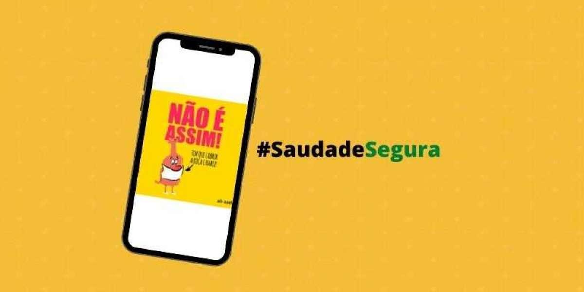 Artes para redes sociais de bares e restaurantes - Campanha #SaudadeSegura