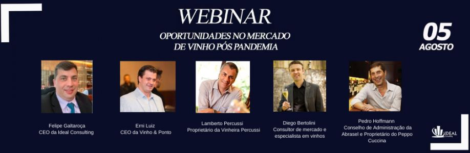 Webinar - Oportunidades no mercado de vinho pós pandemia Cover Image