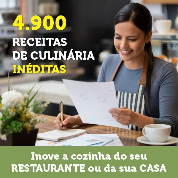 4.900 receitas de culinária para restaurantes - Gourmet Consultoria - learn a new skill - eBooks or Documents   Hotmart