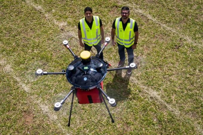 Ambev fecha parceria para delivery via drone, de olho no 5G | VEJA