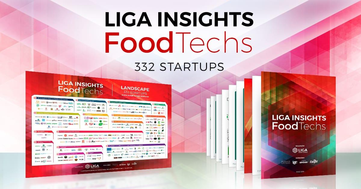 Food Techs - As startups que atuam na alimentação - Liga Insights