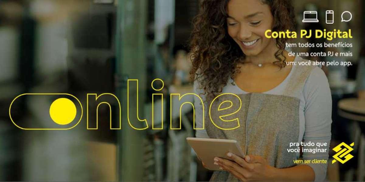 Conta online pra sua empresa acontecer